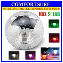 2pcs Set MaxSolar SL006  Solar Powered Pool Floating LED Garden Light