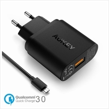 Aukey PA-T9 Qualcomm Quick Charge 3.0 USB travel Charger + Quick Charge Cable
