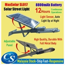 MaxSolar SL017 12W High Power Street Light Load Lamp Flood Garden LED