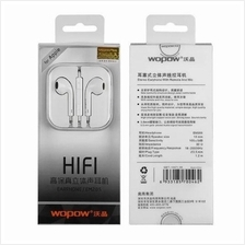 APPLE IPHONE ORI WOPOW EM205 HIFI Stereo Headset with MIC