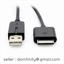 USB Charger & Data Sync Cable for Sony PSP Go Charging Cord 1 Meter
