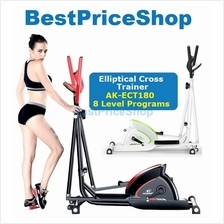 AK-ECT180 Elliptical Cross Trainer Bicycle Slim Cycling Exercise Bike