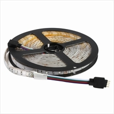 5M 12V 3528 SMD 300 LEDS WATERPROOF IP65 FLEXIBLE RGB LIGHT LED STRIP LAMP WIT