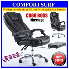 Boss C988 Adjustable Seat Ergonomic Office Home PU Leather Chair