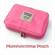 Multifunctional Travel Pouch Toiletries Cosmetic Organizer Storage Bag