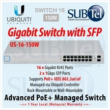 US-16-150W Ubiquiti UniFi Switch POE 16 port SFP UBNT 802.3af 802.3at