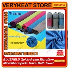 BLUEFIELD Quick-drying Microfibre Microfiber Sports Travel Bath Towel