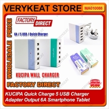 KUCIPA Quick Charge 5 USB Charger Adapter Output 6A Smartphone Tablet