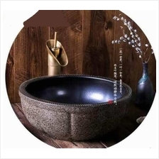PORCELAIN SINGLE BOWL SINK HOME DECORATION DESIGN 002