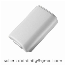 White Battery Back Shell Case Cover for Xbox 360 Wireless Controller