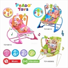 PRADO Baby Rocker Bouncer New Born Toddler Music Chair wt Safety Belt