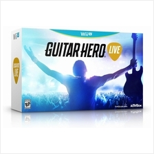 Guitar Hero Live - Wii U (with Guitar)