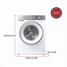 Panasonic Washing Machine NA-120VG6 (10 kg) 1200 RPM Hygiene 60 ℃ / 90 &