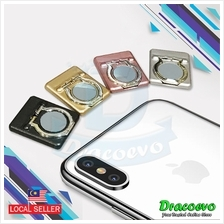 Ring Phone Holder Stand 360 Rotating Magnetic Metal Finger Grip