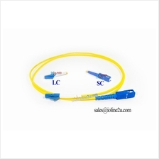 1m SC-LC SM Single mode Fiber Optic Patch Cable Gigabit simplex LAN SFP