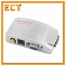 High Resolution Video VGA Conversion 15 Pin VGA to Video  & S-video Converter
