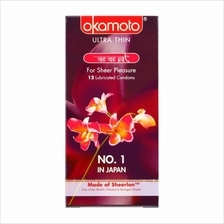 OKAMOTO ORCHID CONDOM 12s (Japan Ultra 002) Must Try!