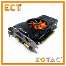 (Refurbished) ZOTAC GTX550Ti 1GB GDDR5 192Bit Graphic Card