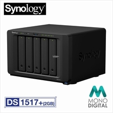 (OFFICIAL) Synology DiskStation DS1517+ (2GB) 5 Bay NAS