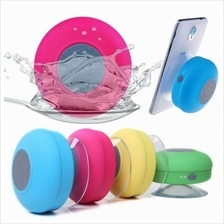 (6pcs of mix colors)Water Resistant Bluetooth Hand-free Shower Speaker