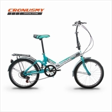 Asogo A1720621-BC 20 Folding Bike Foldable Foldie with 6 Speed