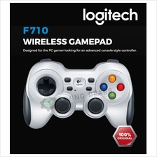 Logitech F710 Wireless Gamepad Joystick Dual Vibrate Windows Vista 7 8