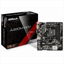 ASROCK A320M HDV SOCKET AM4 MAINBOARD
