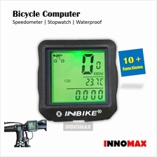 Bicycle Computer Speedometer Stopwatch Illumination Backlight Water Proof