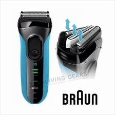 Braun Series 3 3040S Wet & Dry Waterproof Foil Cordless Shaver Men Man