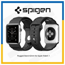 Spigen Apple Watch Rugged Band Strap 42mm TPU Rugged Band - Black