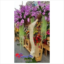 WHITE WOOD TREE DECORATION ( NEW ARRIVAL )