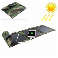 Portable Foldable 3 Solar Panel Charger Powerbank USB Charge for Phone