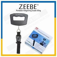 ZEEBE Portable Digital Hanging Luggage Scale Display 50kg WG-02