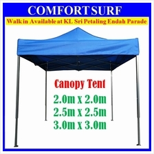 CP018 Foldable Canopy Tent for Event Khemah Kanopi 2mx2m, 2.5m, 3mx3m
