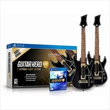 Guitar Hero Live Supreme Party Edition 2 Pack Bundle PS4