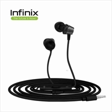 Infinix XE01 Smart Light & Compact Wired In-Ear Headphones Handsfree
