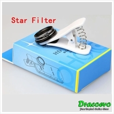 Star Filter Mobile Phone Camera Lens Clip For iPhone Samsung Android