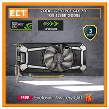 (Bulk Pack) ZOTAC GTX 750 1GB GDDR5 128Bit Graphic Card (HDMI,DVI,VGA)