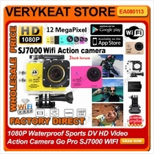 1080P Waterproof Sport HD Video Action Camera Go Pro SJ7000 WIFI