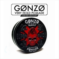Gonzo Limited Edition Hair Pomade Water Base Super Slick Very Hold Ori