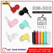 Remax Crazy Robot RM-502 In-ear HiFi Bass Earphone Stereo Music
