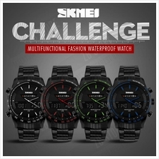 SKMEI 1131 Luxury Brand Full Steel Quartz Clock Digital LED Watch