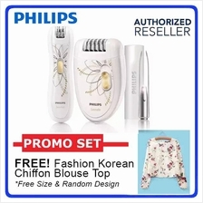 Philips HP6540 Cordless Epilator Set For Women - 2 years warranty