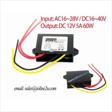 20V 18V 24V AC 17V~40V 36V DC to 12V 5A 60W power converter step down Buck CCT