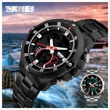 SKMEI 1146 Man Sports Digital Wristwatches Both Time Clock Timing