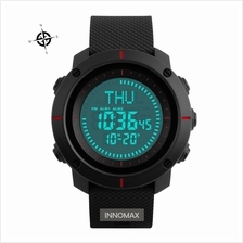 SKMEI Compass Watch 1216 - World Time Stop Watch Water Resistant 50m