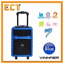 Vinnfier FlipGear Tango 300 Portable Trolley Speaker with Karaoke