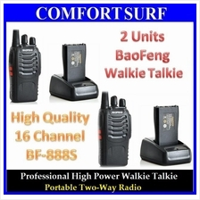 2 UNIT 16 Channel BaoFeng BF-888S Walkie Talkie UHF 5W