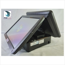 """POS System-TP155X All in one Touch POS PC, 15"""" Customer Display"""