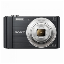 SONY Digital Camera CyberShot Compact Type W-810 Black (Original)